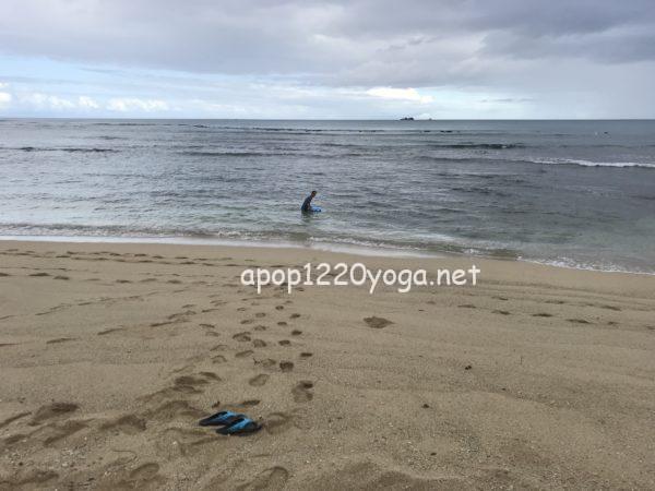 60代夫婦ハワイ旅行ビーチ